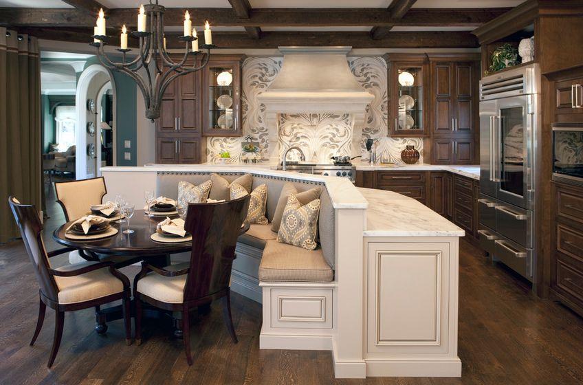 Beyaz Mutfak Koltuk Takımı