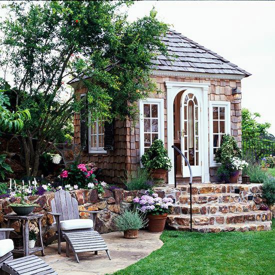 Lüks Bahçe Kulübesi