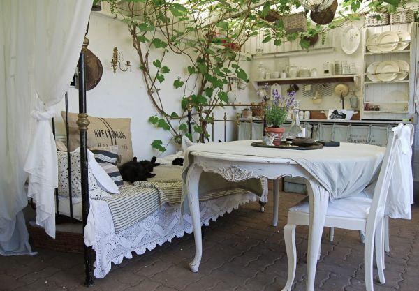 Rustik Bahçe Yatağı