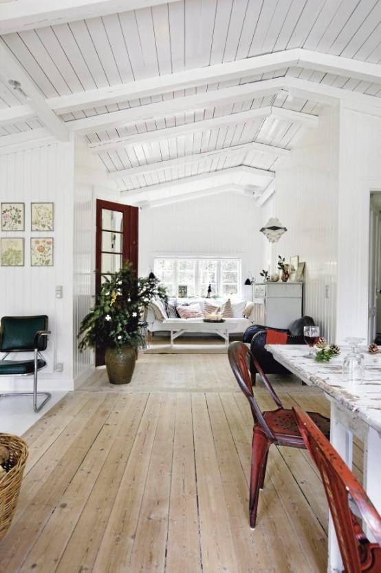 Beyaz Loft Ev