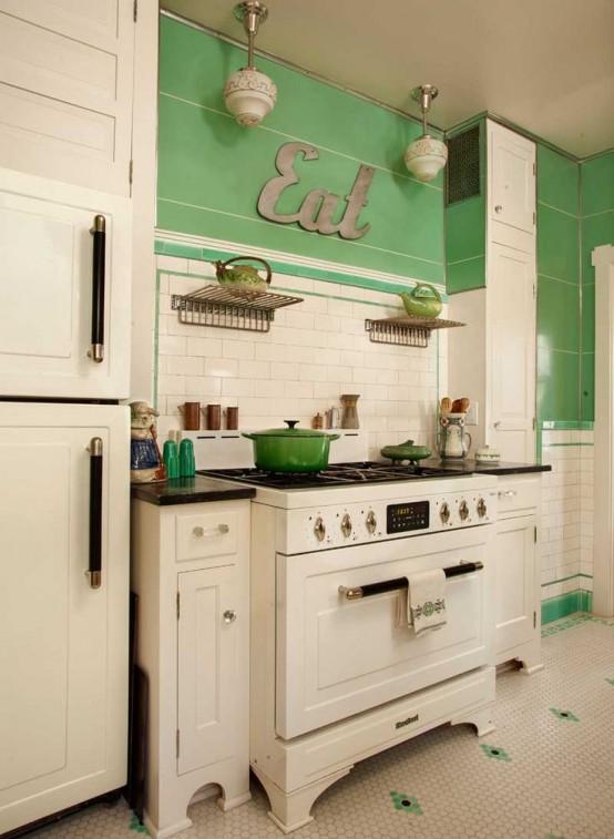 Beyaz Mutfak Dekorasyonları