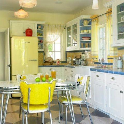 Beyaz Mutfak Dekorasyonu