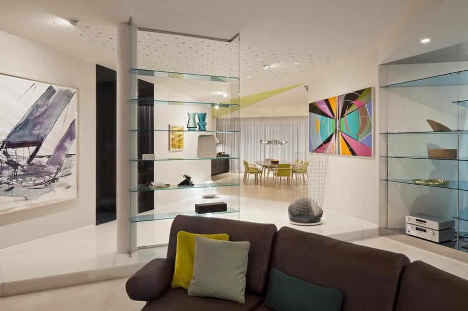 Penthouse Oturma Odası